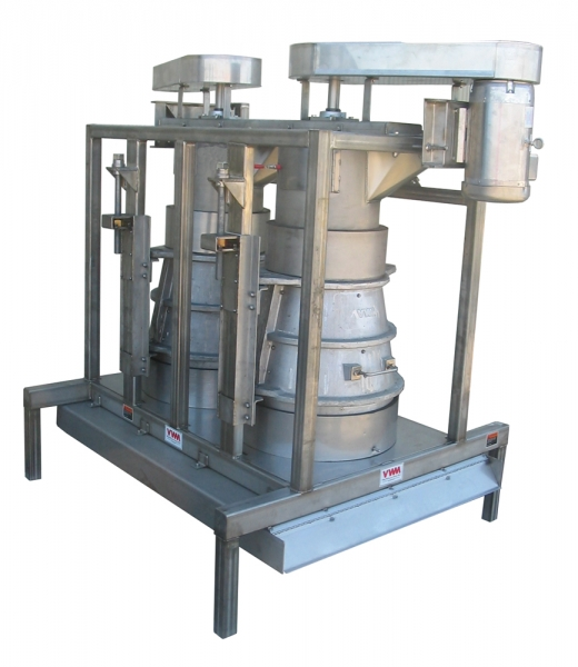 VWM Double Dry Capper Destemmer System