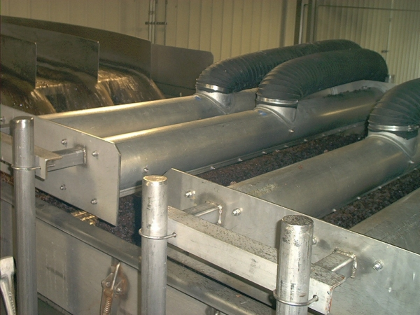 Air Knife Blowers Remove Excess Moisture