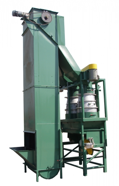 VWM Bucket Elevators Minimize Machinery Footprint