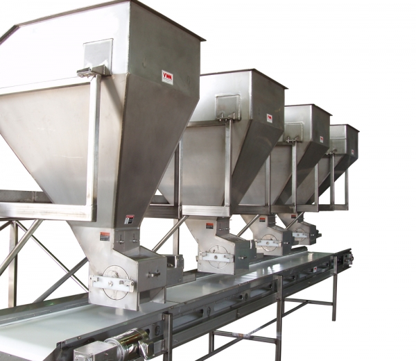 VWM Frozen Fruit or Vegetable Metered Blending Line