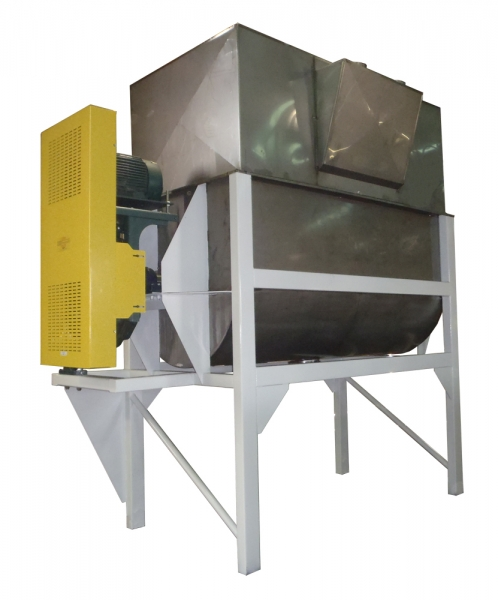 VWM Twin Ribbon Blender for Powder with Dust Hood