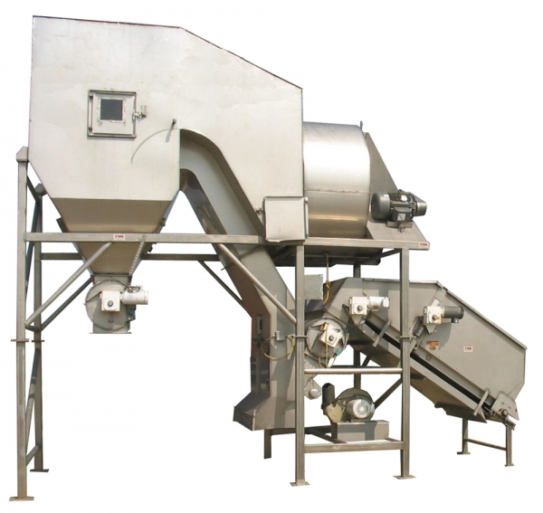 VWM SuperVac® System with Incline Conveyor Infeed