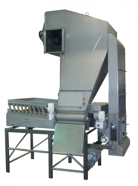 VWM SuperVac® System with VI-PRO® Vibratory Conveyor Infeed