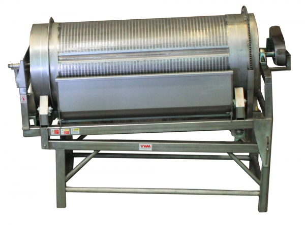 VWM Rotary Brush Washer can Offer Washing and Dewatering in a Single Unit